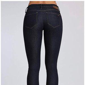 Mavi Alexa Mid Rise Skinny Jean-Rinse Supersoft